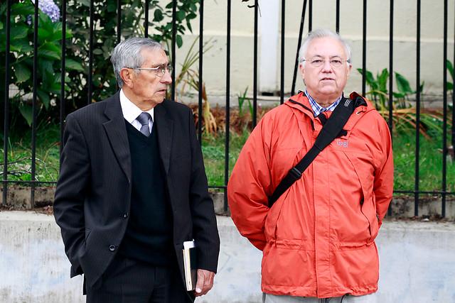 Guillermo Muñoz y Freddy Tornero   Víctor Salazar   Agencia UNO