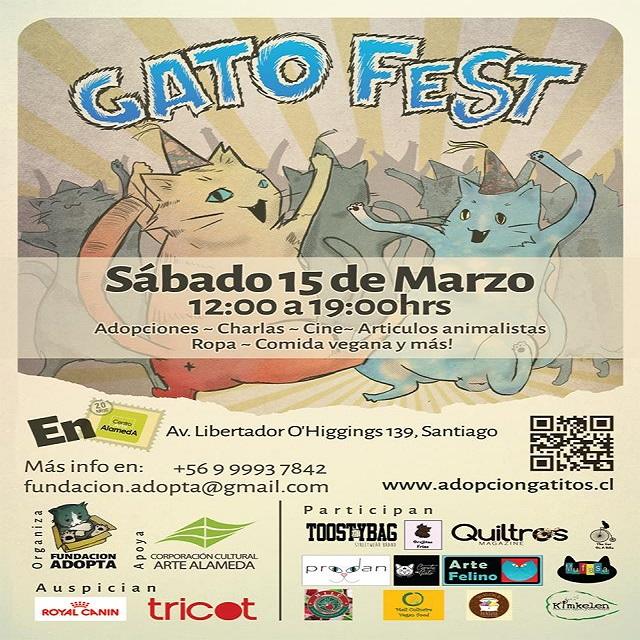 Afiche Gato Fest