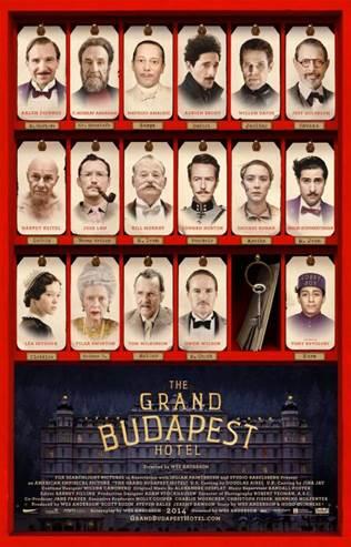 Afiche Gran Hotel Budapest