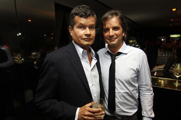 Bianchi junto a Pablo Mackenna | Rodrigo Sáenz - Agencia UNO
