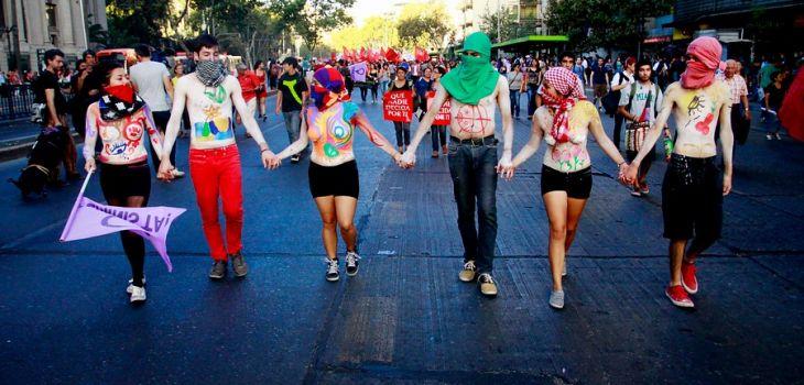 """""""Marcha por el Día de la Mujer 2013″ / David Cortés (Agencia Uno)"""