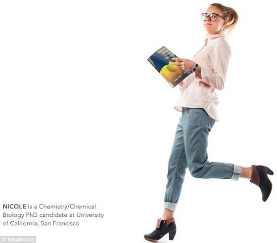 Nicole | Bióloga química | Candidata a doctorado en U. de California