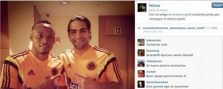 Radamel Falcao | Instagram