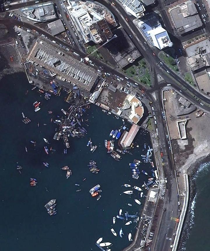 Iquique tras tsunami | SAF