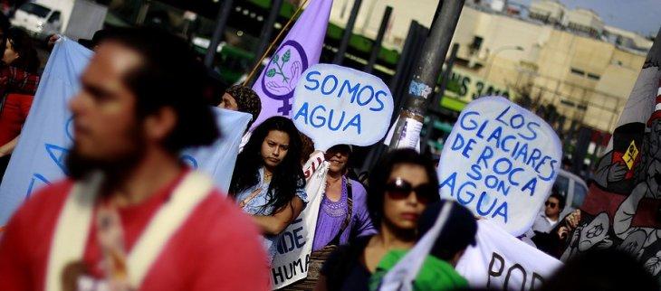 Marcha por el agua de 2013 | Cristóbal Escobar | Agencia UNO