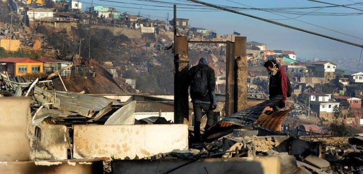 Incendio en Valparaíso | Pablo Ovalle/AgenciaUNO