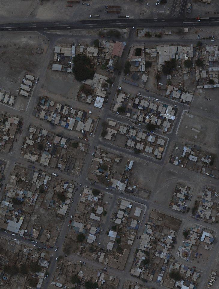 Huara | Servicio aerofotogramétrico de la FACH