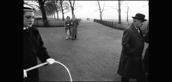 Hyde Park, Londres, Gran Bretaña, 1958 1959, libro Sergio Laraín Éditions Xavier Barral (c)