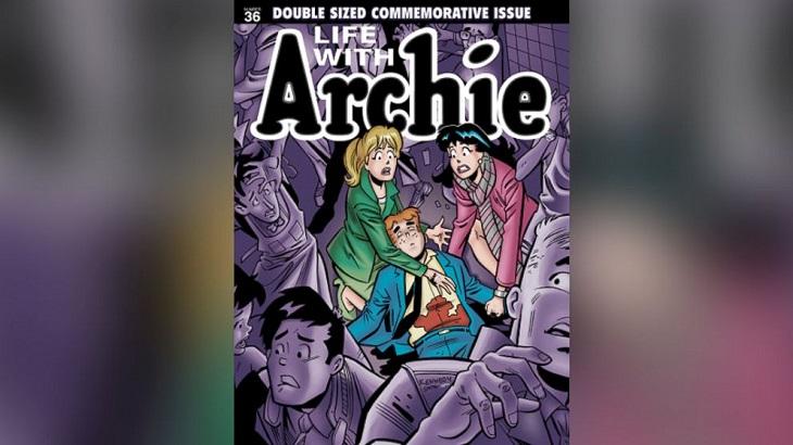 La portada de la edición 36 | Archie Comics