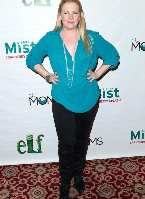 Melissa en noviembre de 2013 | Vista en www.lifeandstylemag.com