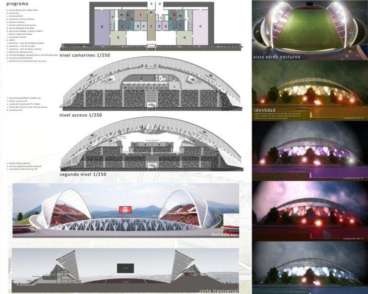 Proyecto estadio Nicolás Chahuán