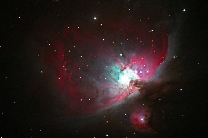 Astrofotografía de la Nebulosa de Orión | Observatorio Pailalén