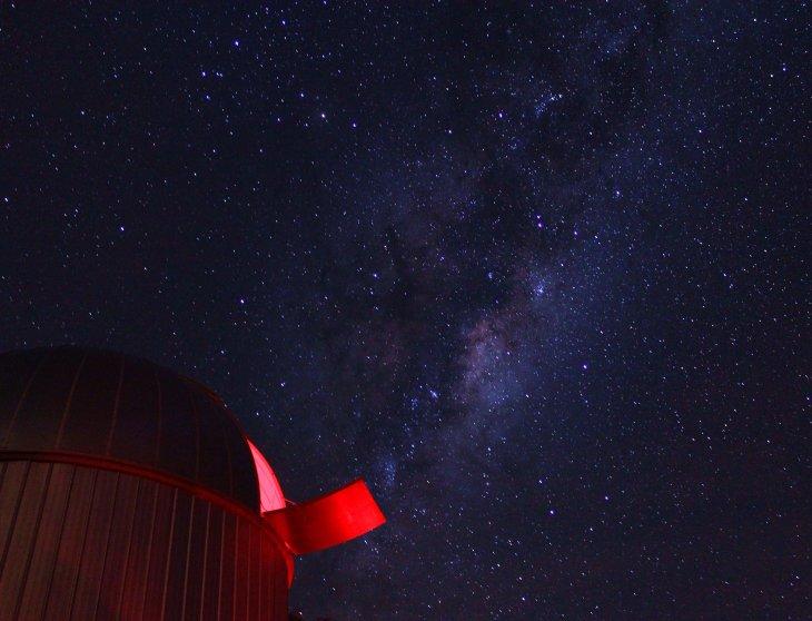 Cúpula del Telescopio Mead 14 pulgadas del Observatorio Pailalén