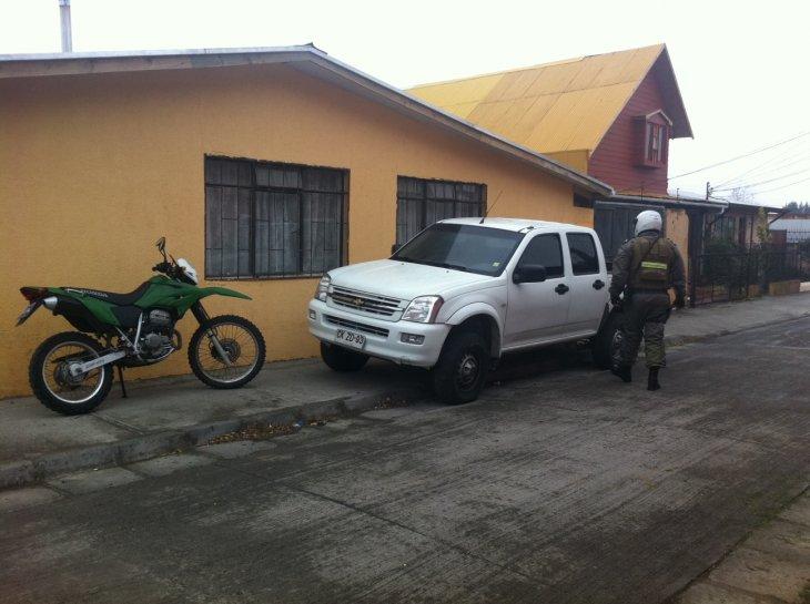 Camioneta empleada para el robo | Pedro Cid (RBB)
