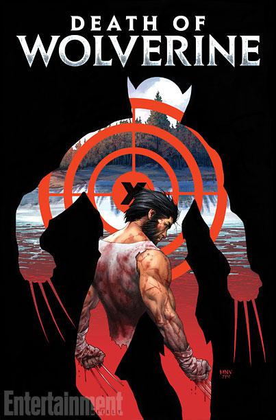 """Portada de """"La Muerte de Wolverine"""""""