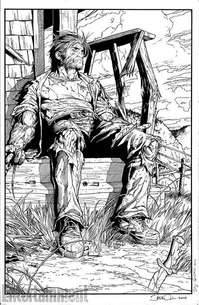 """Primera página de la entrega 1 de """"La Muerte de Wolverine"""""""