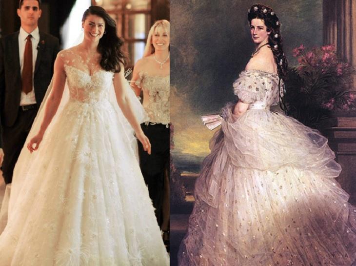 la inspiración tras el vestido de boda de tonka tomicic | notas