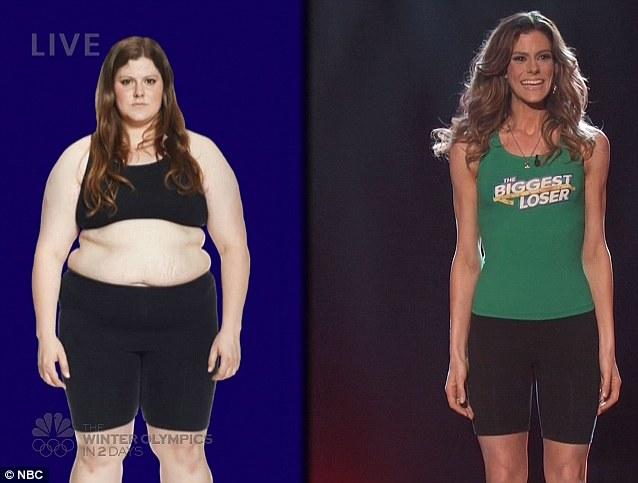 La apariencia de Rachel al inicio y final del concurso   NBC