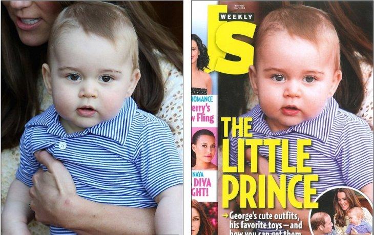 Imagen original vs foto portada | US Weekly