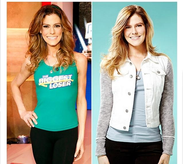 Rachel al final del concurso y actualmente con 9 kilos más | US Weekly