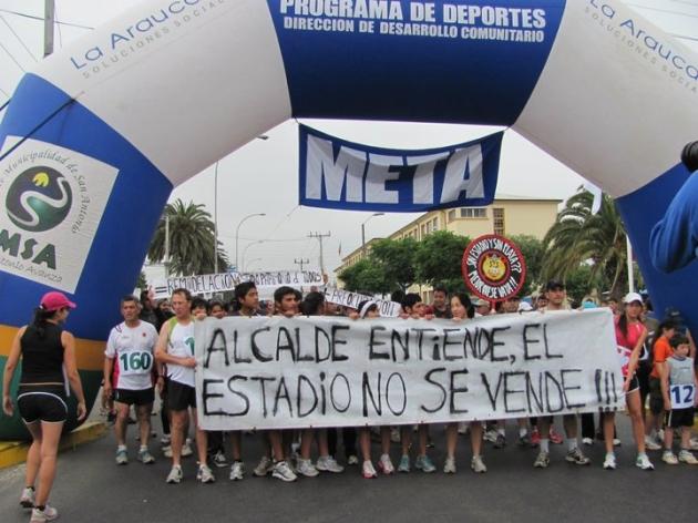 Defensa del Estadio San Antonio | LILIANA CANCINO CARDOZA
