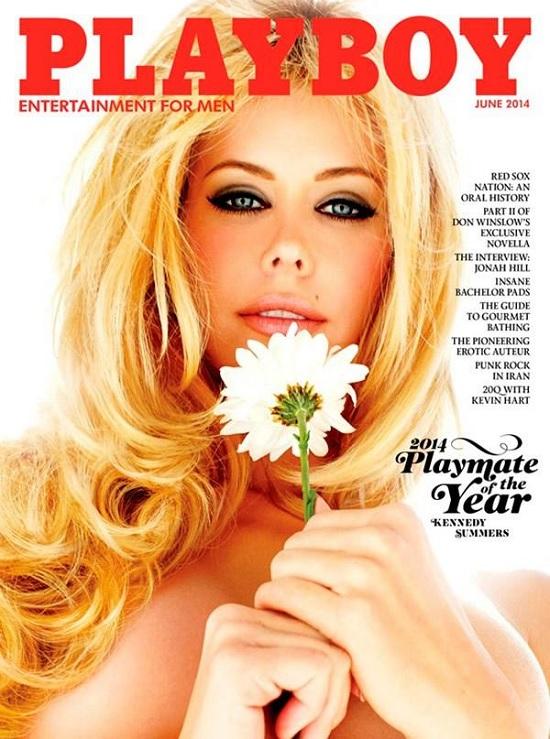 La portada de junio   Playboy