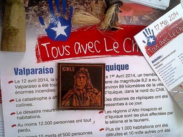 Tous Avec le Chili - Fiesta Solidaria | Rodrigo Olavarria