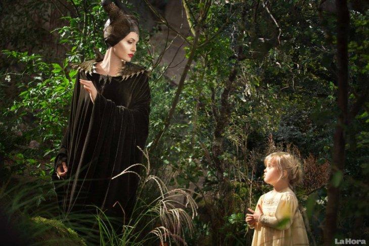 Angelina y Vivienne en Maléfica | Walt Disney Studios