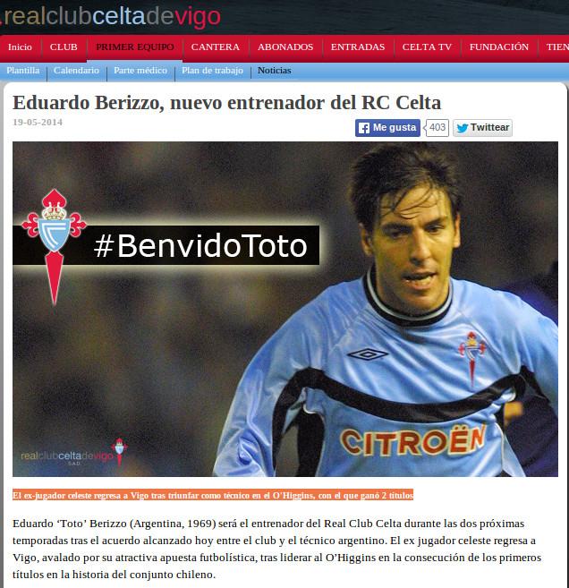 Celta de Vigo Oficial | www.celtavigo.net