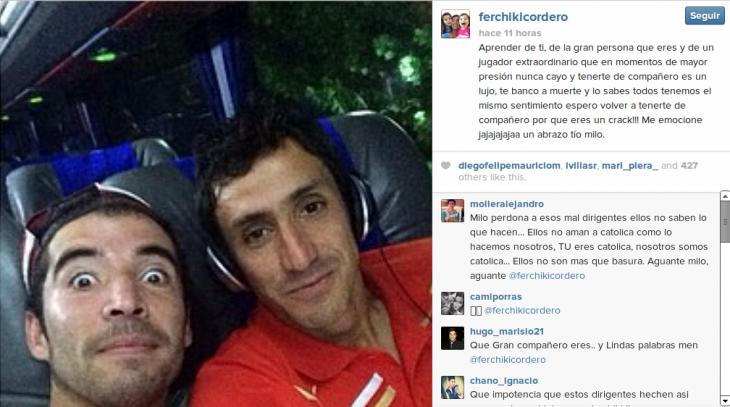 Fernando Cordero | Instagram
