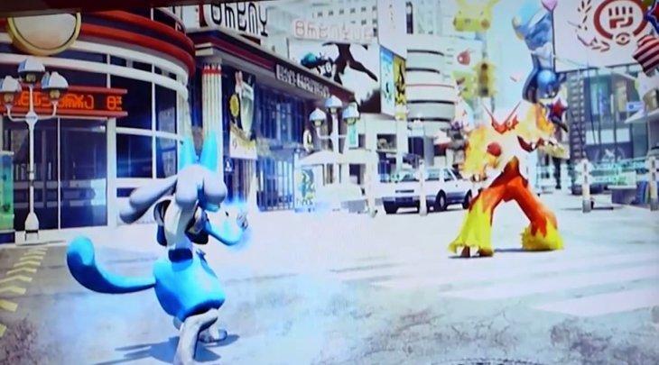 Juego de peleas mostrado en el Pokémon Show de Tokio