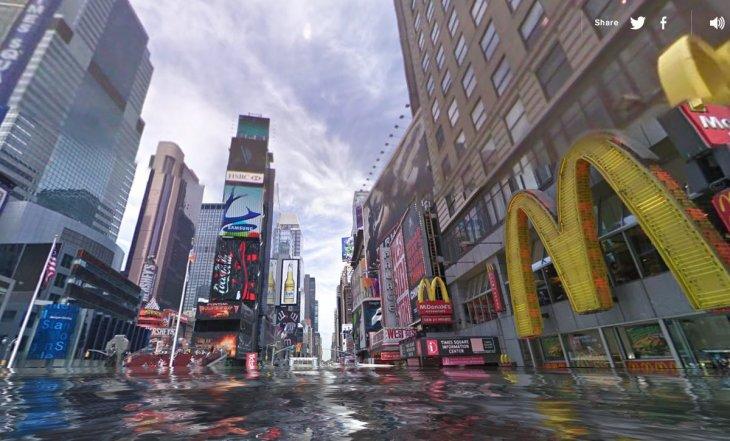 Nueva York   World Under Water