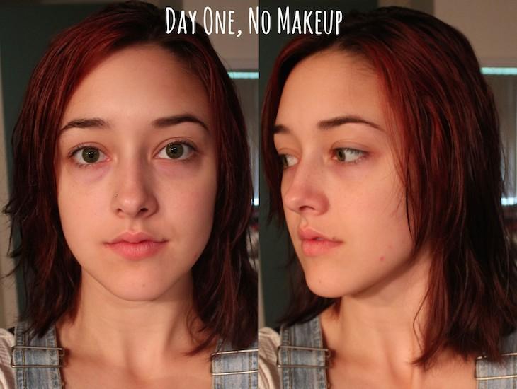 Día sin maquillaje