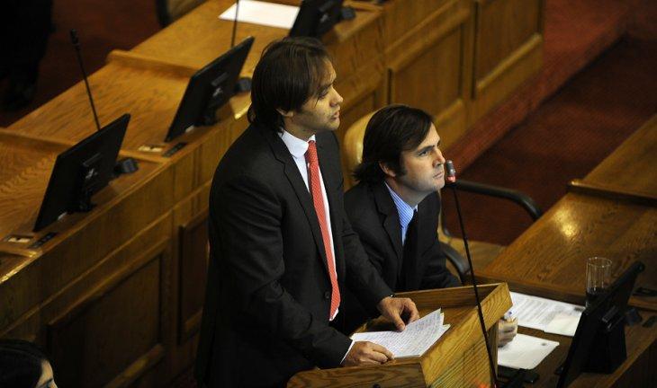 Diputado Joaquín Godoy interpelando a Saball | Agencia UNO