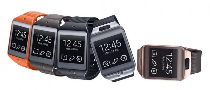 Samsung ya cuenta con relojes inteligentes: Modelos del Gear 2