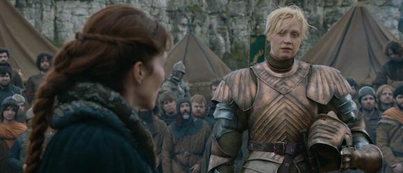 """Christie (a la derecha) en su papel en """"Game Of Thrones""""   HBO"""