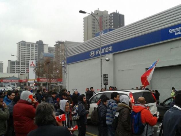 Protesta de Indumotora | Bastian Parraguirre