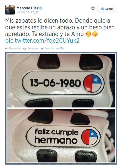 Marcelo Díaz | Twitter