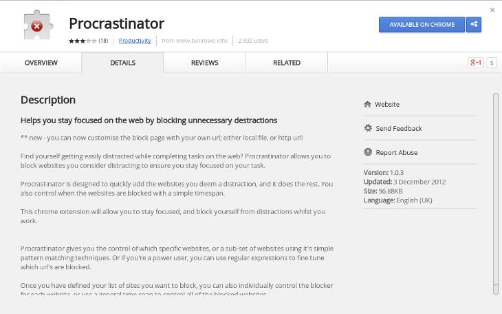 Procastinator