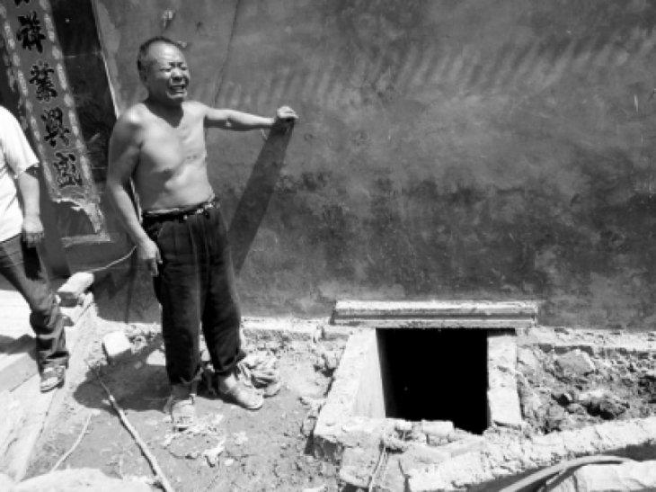 Un vecino muestra el lugar de la tragedia | Sohu.com