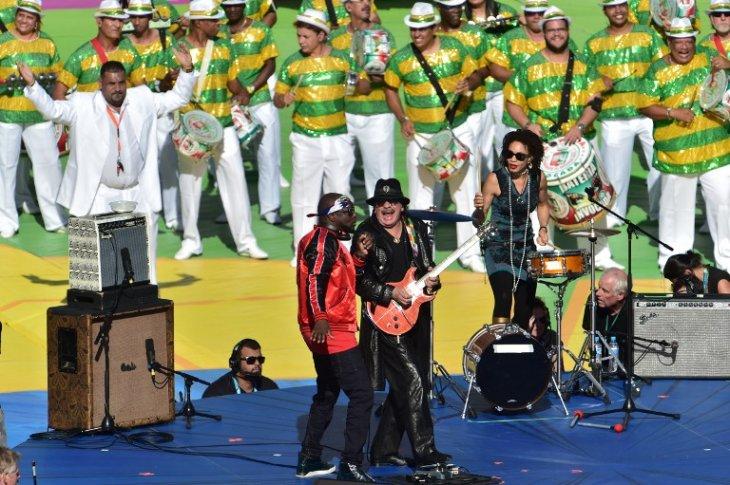 Carlos Santana | NELSON ALMEIDA | AFP