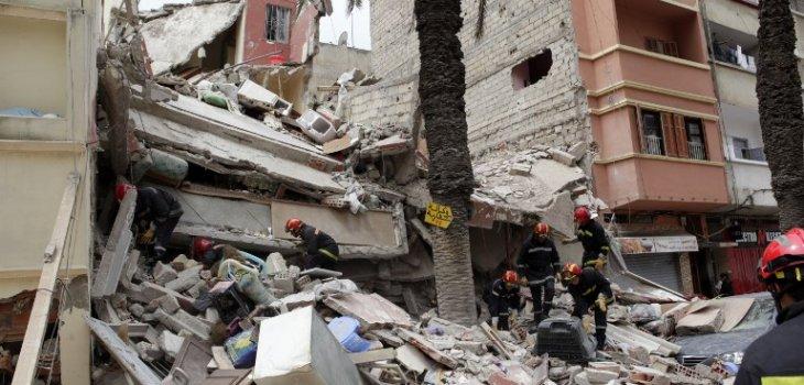Marruecos: Al menos 23 muertos en el derrumbe de tres edificios en Casablanca 000_Nic6347967-730x350