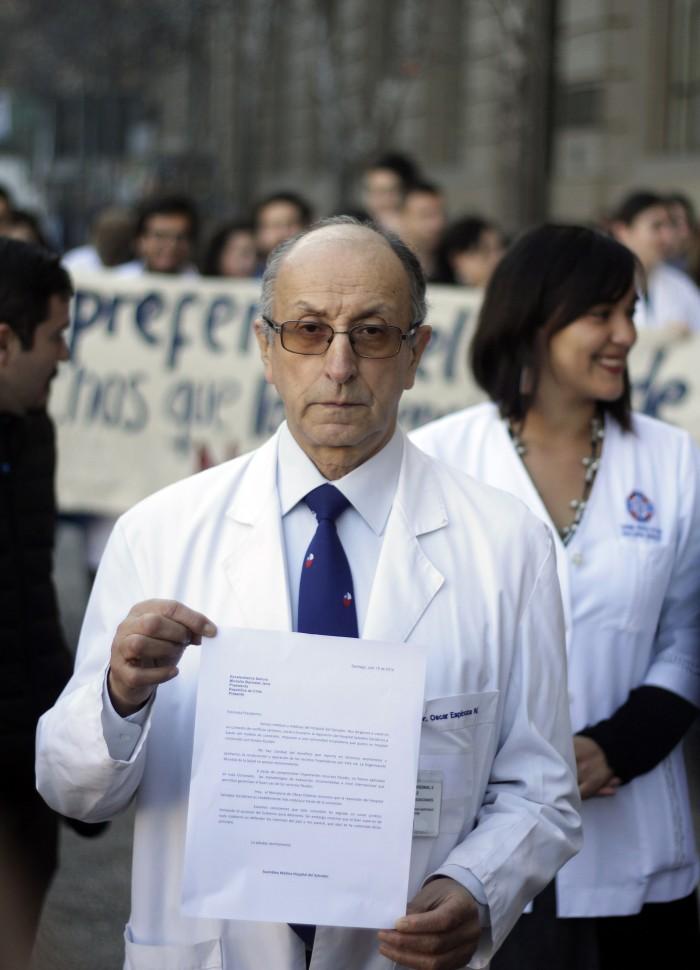 Doctor Óscar Espinoza | Francisco Castillo (Agencia UNO)