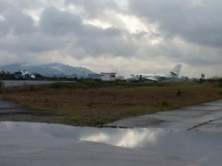 Avión ambulancia de Carabineros | Carlos Martínez (RBB)