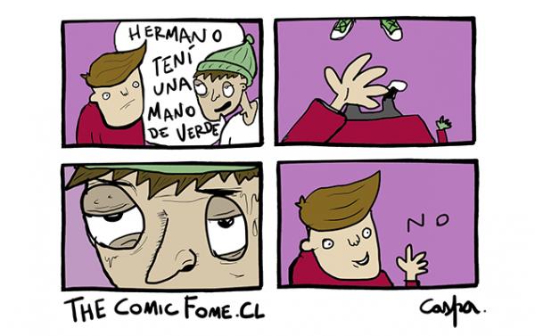 Caspa | TheComicFome