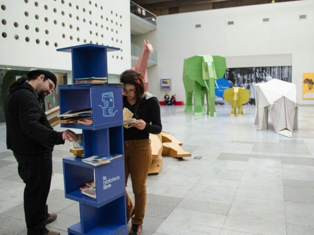 Liberación de Libros de La Biblioteca Libre   Diego Ramírez