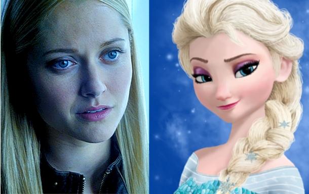 Georgina Haig es Elsa