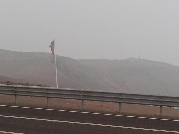 Bandera chilena olvidada en el Norte de Chile | Ricardo Villalobos R.