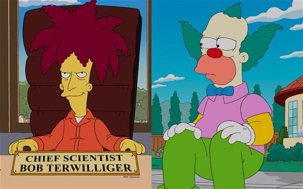 Bob Patiño y Krusty | Fox