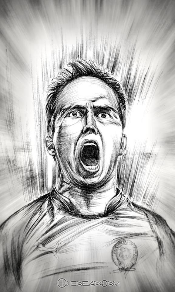 Ilustraciones de la Selección Chilena | Boris Toledo
